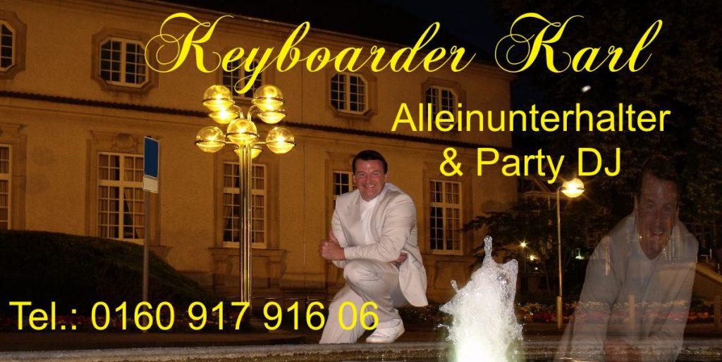 Alleinunterhalter Adenau - Party DJ Adenau - zum Festpreis Telefon 0160 917 916 06