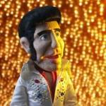Bauchredner Puppe Elvis