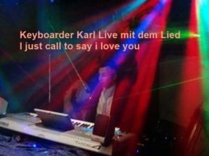 DJ Heinsberg Keyboarder Karl singt Live als Alleinunterhalter Heinsberg