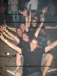 Alleinunterhalter Aachen Düren Mönchengladbach Party Stimmung im Festzelt