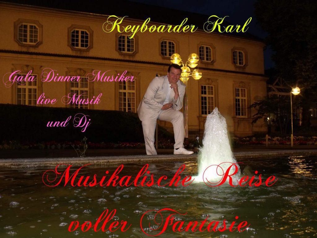 Alleinunterhalter Heinsberg Linnich Baal Hückelhoven - Live Musik und Party DJ mit Keyboarder Karl