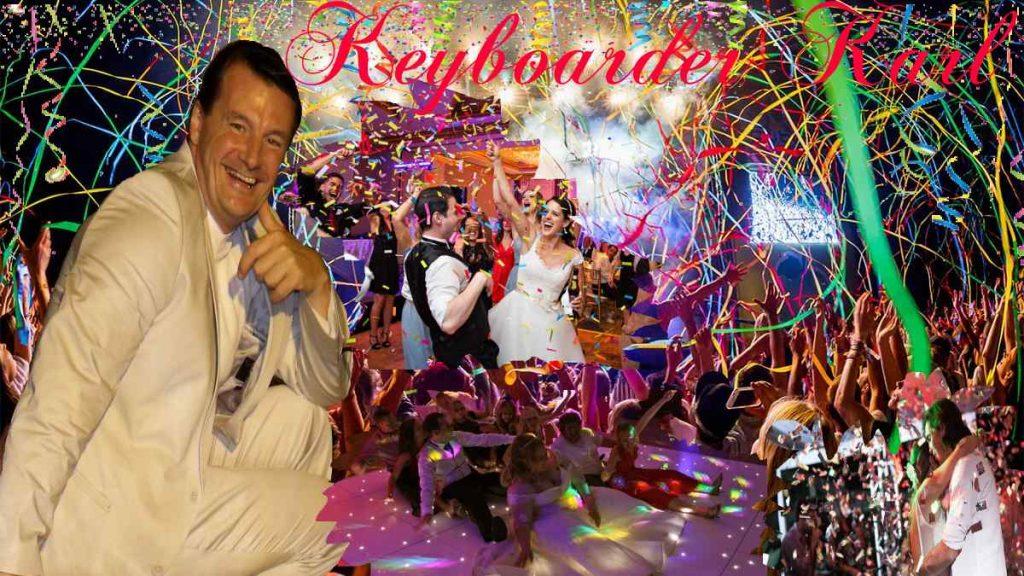 Hochzeit und Party DJ Keyboarder Karl aus NRW