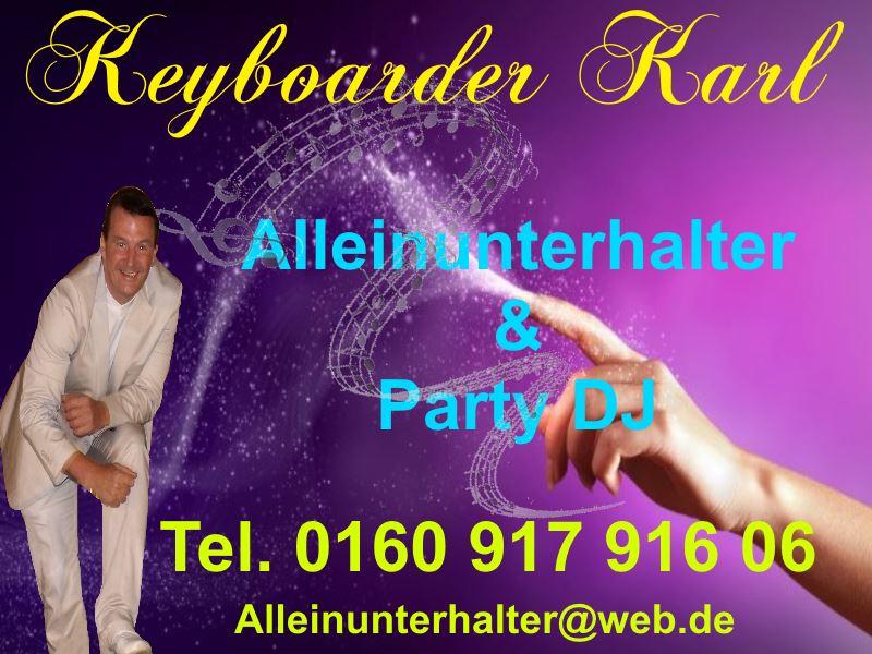 Professioneller Alleinunterhalter und Party DJ in ganz NRW zum Festpreis inkl Musik und Licht Technik