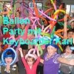 Kindergarten Party mit Keyboarder Karl