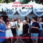 Karaoke Singen bei Gartenparty mit Alleinunterhalter und DJ Nrw